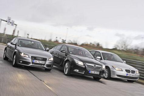 Opel Insignia BMW 5er Audi A4