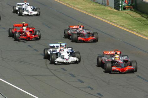 Formel 1, Start Australien-GP 2008