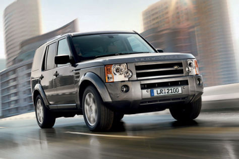 Land Rover Discovery Modelljahr 2009