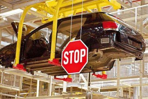 In Rüsselsheim, wo auch der Astra produziert wird, will Opel die Produktion um bis zu 30 Prozent kappen.