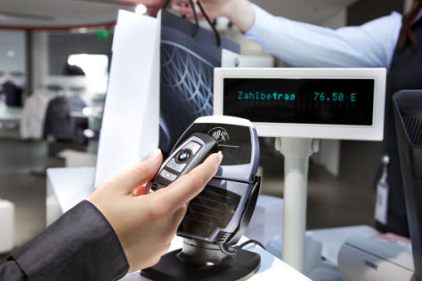 Multifunktionaler Autoschlüssel von BMW