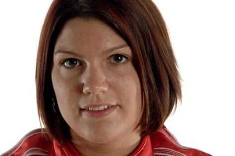 Katherine Legge testet für Minardi