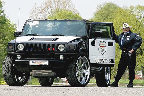 Polizei Hummer