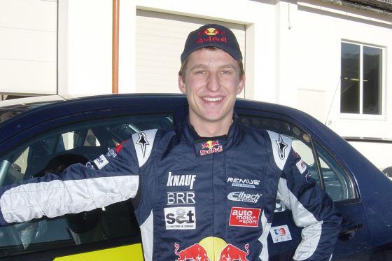 WRC Rallye Wales 2008, P-WRC-Weltmeister Andreas Aigner, Mitsubishi Lancer