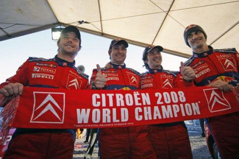 WRC Rallye Wales 2008, Sieger Sébastien Loeb, Citroën C4