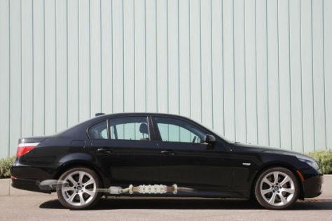 5er BMW mit Thermoelektrischem Generator