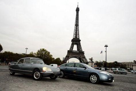 Citroën C6 trifft Citroën DS