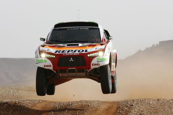 Rallye Dakar 2009, Mitsubishu Racing Lancer