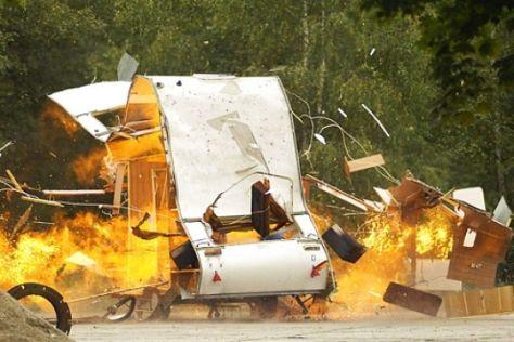 Explosionsgefahr von Flüssiggas