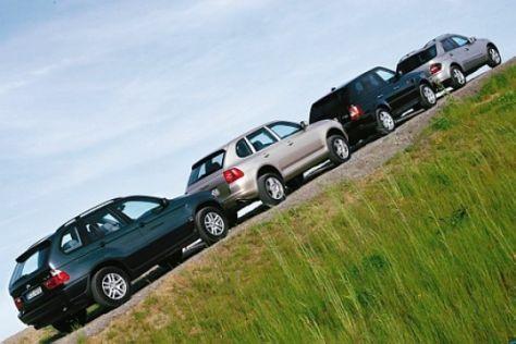 Vergleich Edel-SUV