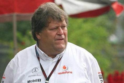 Formel 1, Mercedes-Motorsportchef Norbert Haug