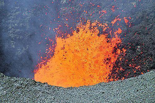 Die ältesten CO2-Produzenten der Welt: Ohne Vulkane gäbe es kein Leben auf der Erde. Völlig ohne das Treibhausgas wäre es hier empfindlich kalt.