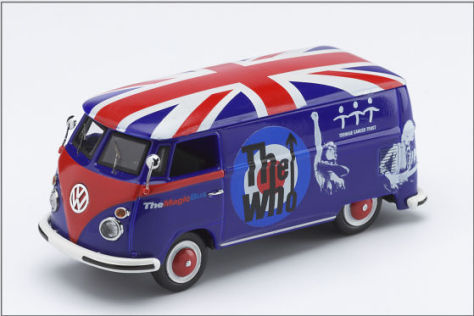 VW T1 Magic Bus The Who