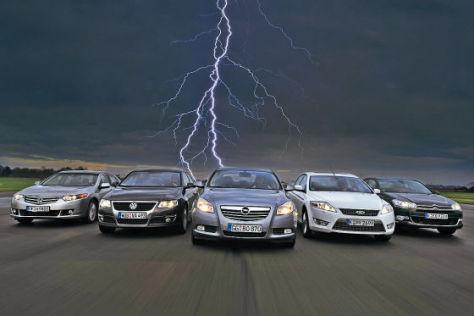 Opel Insignia 2.0 CDTI VW Passat 2.0 TDI Ford Mondeo 2.2 TDCi Citroen C5 HDi 170 Honda Accord 2.2i-DETC