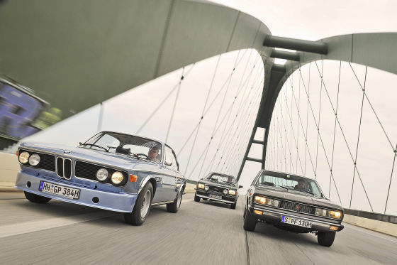 BMW 3.0 CSI Opel Commodore Fiat 130
