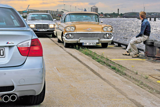 Chevrolet Bel Air Mercedes-Benz 450 SEL 6.9 BMW M3