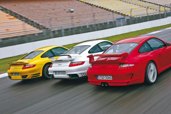 Porsche 911 Turbo GT2 GT3