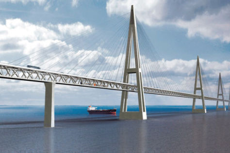 Beltbrücke ein Milliardengrab