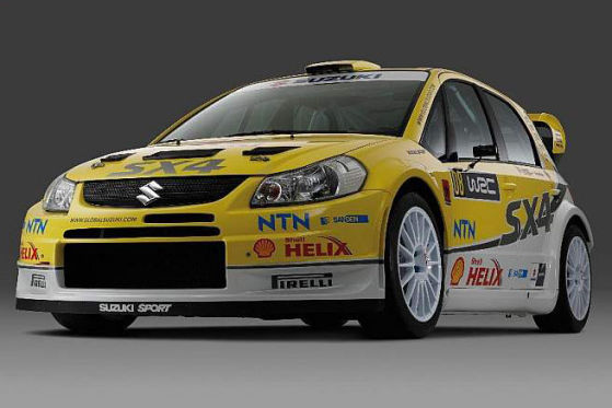 WRC, Rallye Weltmeisterschaft 2008,  Suzuki SX4 WRC
