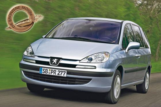 Bronzene Möhre Peugeot 807