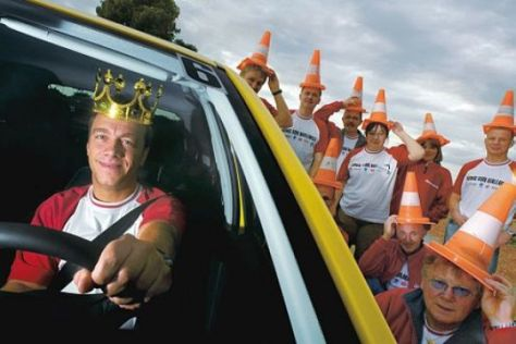 "AUTO BILD-Aktion ""König von Mallorca"""