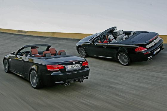 BMW M3 Cabrio BMW M6 Cabrio