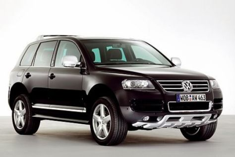 Sondermodell VW Touareg Kong