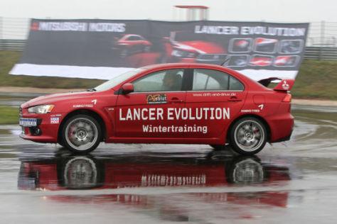 Mitsubishi Lancer Evo X Driftweltrekord Sachsenring