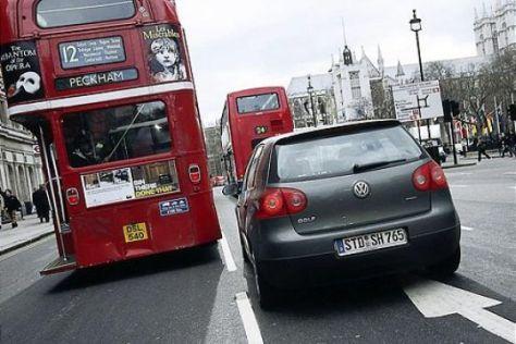 Busfahren in London