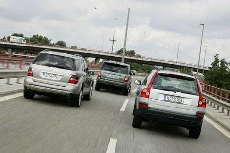 Vergleich V8-SUV