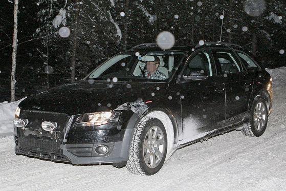 Erlkönig Audi A4 allroad