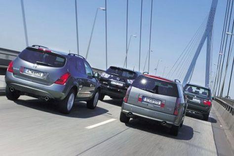 BMW X5 gegen drei SUV-Exoten