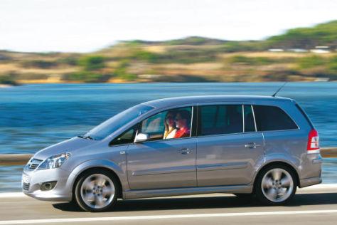 Das Grundmodell vom Opel Zafira wird um 1790 Euro billiger.