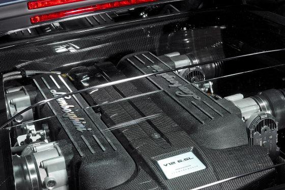 Lamborghini Murciélago LP 640, Motor