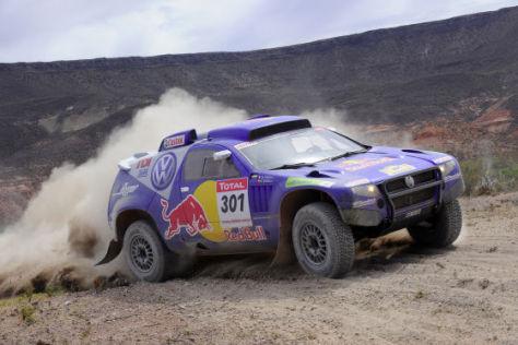 Rallye Dakar 2009 Tag 4 Carlos Sainz VW Race Touareg