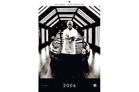 "VW-Kalender ""Factory Constructivism"""