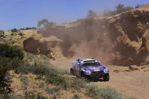 Rallye dakar Tag 5 Giniel de Villiers VW Race Touareg