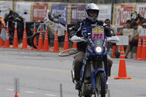 Rallye dakar 2009 Pascal Terry Yamaha WR450F