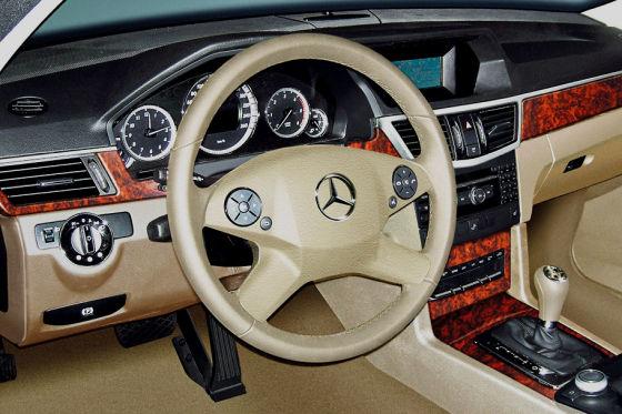 Mercedes E-Klasse Innenraum