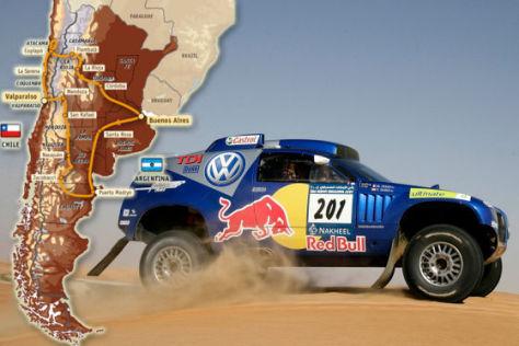 Rallye Dakar 2009 Tag 5
