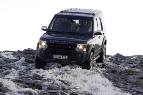 Fahrtraining Land Rover