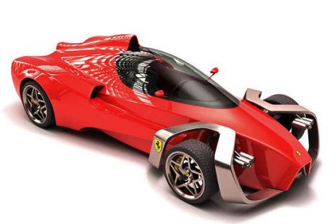 Ferrari Zobin Concept Studie