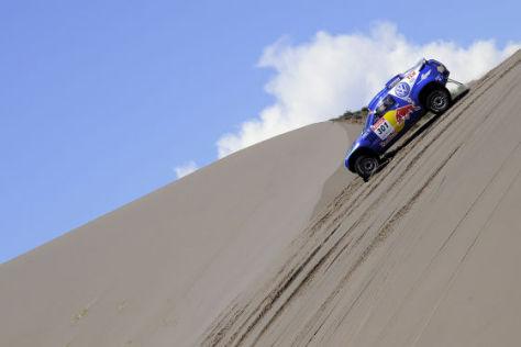 Rallye Dakar 2009 Tag 7 Carlos Sainz VW Race Touareg