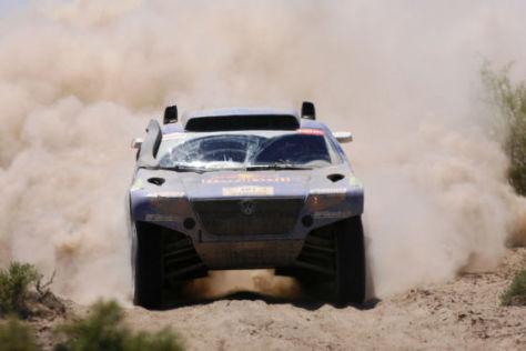 Rallye Dakar 2009 Tag 9 Carlos Sainz VW Race Touareg