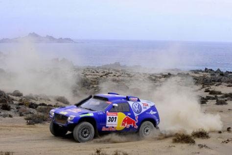 Rallye Dakar 2009, Carlos Sainz, VW Race Touareg