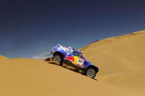 Rallye Dakar 2009, Tag 13, Carlos Sainz, VW Race Touareg