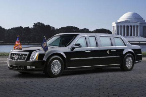 Cadillac stellt die neue Präsidenten-Limousine für Barack Obama vor.