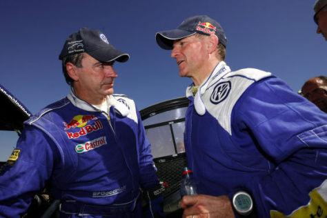 Rallye Dakar 2009, Etappe 12, Carlos Sainz, Michel Perin, VW Race Touareg