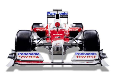 Formel-1-Saison 2009, Toyota TF109, Präsentation im Internet