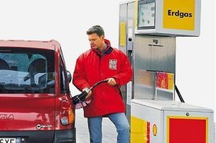 Hier tanken Sie Erdgas